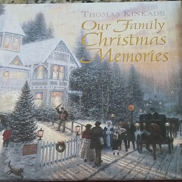 Thomas Kincade our family Christmas memories book